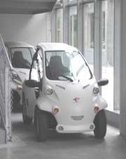 実習用電気自動車 COMS